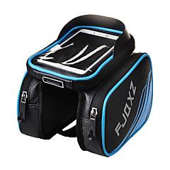 お買い得  自転車用バッグ-FJQXZ 携帯電話バッグ / 自転車用フレームバッグ 4.2 インチ タッチスクリーン, 防水 サイクリング のために iPhone 5/5S / 他の同様のサイズの携帯電話 / 防水ファスナー