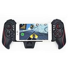 olcso Videójátékok-újratölthető vezeték nélküli gamepad teleszkópos bluetooth játékvezérlő 4,6-10,6 hüvelykes iphone ipad android telefon