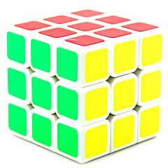 billiga Leksaker och spel-Rubiks kub Shengshou 3*3*3 Mjuk hastighetskub Magiska kuber Pusselkub professionell nivå Hastighet Present Klassisk & Tidlös Flickor