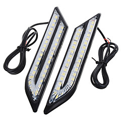 cheap Daytime Running Lights-exLED Car Light Bulbs 24 W SMD 5630 500 lm 66 LED Daytime Running Light