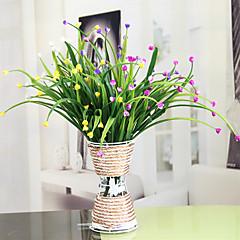 billige Kunstige blomster-Kunstige blomster 1 Gren Moderne Stil Brudeslør Bordblomst