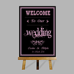cheap Wedding Ceremony-Signature Frames & Platters Paper Garden Theme WeddingWithPattern Wedding Accessories