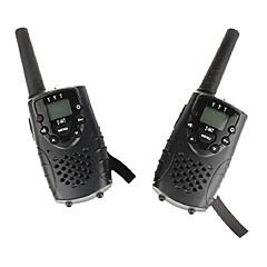 billige Walkie-talkies-T667446B Walkie-talkie Håndholdt Programmeringskabel VOX Kryptering CTCSS/CDCSS Nøylelås bakgrunnsbelysning LCD Skan Overvågning 3-5 km