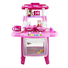 billiga Leksakskök och -mat-Toy köksutrustning Låtsaslek Miljövänlig Plast Klassisk 1pcs Bitar Barn Present