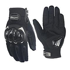 tanie Rękawiczki motocyklowe-jazda plemienia zawodowych poślizgowe odporne rękawice pełne palca wyścigów motocyklowych MCS-17