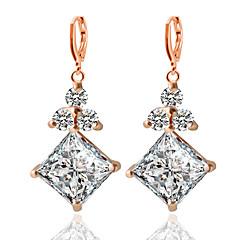 Moda alaşım Geometric Shape Altın Gümüş Mücevher Için Düğün Parti Günlük 1 çift