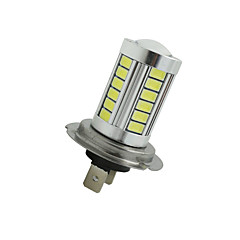 cheap Car Fog Lights-2Pcs Super Bright H7 33 SMD 5630 LED Car Fog Headlight Driving Light Bulb White 12-24V