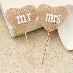 cheap Cake Toppers-Cake Topper Beach Theme Garden Theme Floral Theme Butterfly Theme Vintage Theme Rustic Theme Classic Couple Hearts Resin Wedding