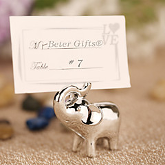 Lucky in Love Lucky Elephant Place Card Holder Beter Gifts Wedding Decorations