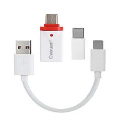 preiswerte -CE - Link ™ USB 3.1 Typ C-USB 3.1 Typ C / Micro-USB Typ B / USB 3.0 0,25m (0.8Ft)