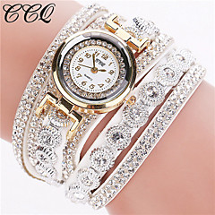 cheap -New Fashion Luxury Rhinestone Bracelet Watch Women's Strap Watch Clock Watch Ladies Quartz Watch  Casual Women Wristwatch