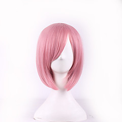 cheap Wigs & Hair Pieces-cosplay pink color fashion wigs japanese anime halloween hairstyle girl wigs Halloween