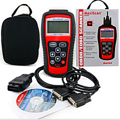 MS509 OBD2 scanner code lezer MaxiScan voertuig detector fout diagnose-instrument
