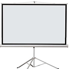 100 polegadas 4 3 suporte de projetor de tela de dobramento de tela hd tela de projeção 3D casa cortina de plástico branco
