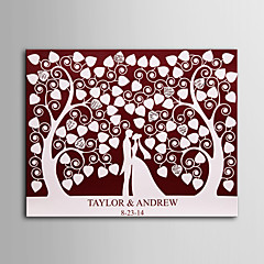 E-HOME®  Personalized Signature Canvas invisible Frame Print - Under The Love Tree