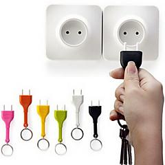 uutuus kannettava anti lost söpö kotiin seinään decroation design irrota avaimenperä eu pistoke pistorasia avaimenperä avaimenperä pidin