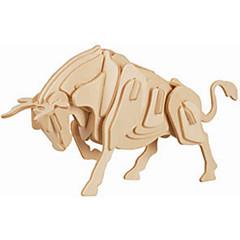 baratos -Quebra-Cabeças de Madeira Touro Nível Profissional De madeira 1pcs Crianças Para Meninos Dom