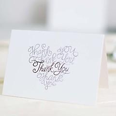 Dobrado no Topo Convites de casamento 25-Cartões de convite Cartões de Obrigado Cartões de resposta Amostra de convite Cartões de