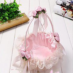 "cheap Wedding Ceremony-Flower Basket Rattan 9 1/2"" (24 cm) 1"