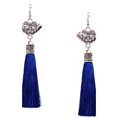Žene Viseće naušnice Jewelry Kićankama Moda kostim nakit Plastika Glina Legura Bowknot Shape Jewelry Za Party Dnevno Kauzalni