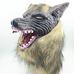 Halloweenské masky Masky maškarní Hračky Vlčí hlava Horor Téma 1 Pieces Halloween Plesová maškaráda Dárek