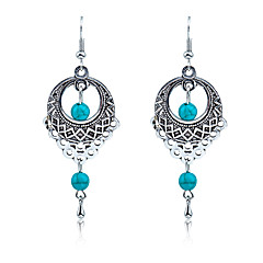cheap -Men's Women's Turquoise Drop Earrings - For Wedding Party Daily Casual