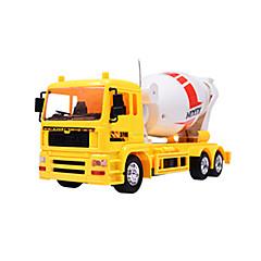 baratos Carros Controle Remoto-Carro com CR 8 Canais Caminhão / Escavadora / Veiculo de Construção 1:24 KM / H Controlo Remoto / Recarregável / Elétrico
