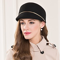 お買い得  パーティーハット-ウール合金の帽子のヘッドピースの結婚式のパーティーエレガントな女性のスタイル