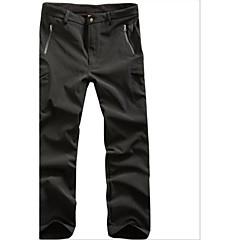 Pantaloni de vanatoare Impermeabil Keep Warm Purtabil Unisex Clasic camuflaj Pantaloni Jachete Softshell pentru Schiat Camping & Drumeții