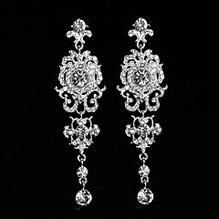 New Style Fashion Flower Shape Earrings Classical Feminine Style