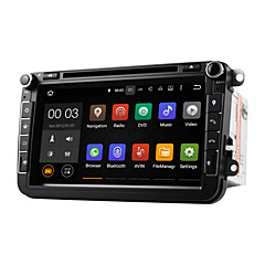 billige DVD-spillere til bilen-8 tommers Android 5.1 bil dvd-spiller multimedia system wifi dab for vw Magotan fokus 2007-2011 golf 5 golf 6 caddy polo v 6r du8015lt