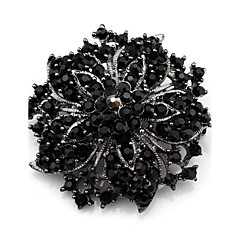 Women's Brooches Crystal Luxury Synthetic Gemstones Rhinestone Jewelry For Wedding Daily Casual