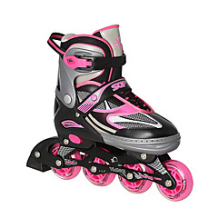 아동 어른' 인라인 스케이트 반대로 동요 통기성 조절 가능 보호하는 ABEC-7 - 블랙/레드/블루/핑크