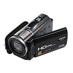 Videokamera 1080P Video Utgang Anti-Sjokk Smil Deteksjon Berøringsskjerm Vippbar LCD Svart