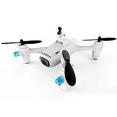 billige Fjernstyrte quadcoptere og multirotorer-RC Drone Hubsan H107C+ 4 Kanaler 6 Akse 2.4G Med HD-kamera 720P Fjernstyrt quadkopter LED Lys / Flyvning Med 360 Graders Flipp / Med kamera Fjernstyrt Quadkopter / Fjernkontroll / USB-kabel