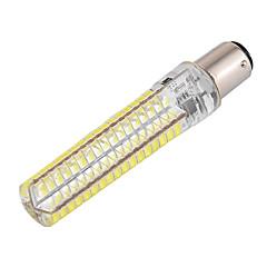 YWXLIGHT® 1kpl 10 W 1000-1200 lm BA15d LED-maissilamput T 136 LED-helmet SMD 5730 Himmennettävissä / Koristeltu Lämmin valkoinen / Kylmä valkoinen 85-265 V / 1 kpl / RoHs