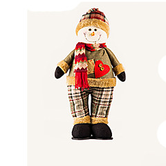 Holiday Decorations Christmas Decorations Toys Santa Suits Elk Snowman Deer Furnishing Articles Boys' Girls' Pieces