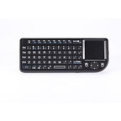 android tv kutusu / pc / IPTV için fare touchpad ile multimedya klavye, kablosuz klavye