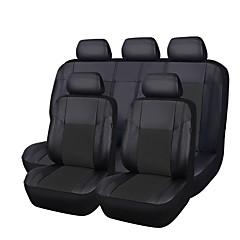 billige Setetrekk til bilen-CARPASS Setetrekk til bilen Setetrekk Svart PU Leather Vanlig for Universell
