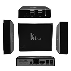 ieftine -k1 plus amlogic s905 Android 5.1.1 caseta Smart TV hd 4k 1g berbec 8g rom quad core wifi