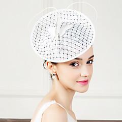 フラックスフェザーの魅力的なヘッドピースエレガントなクラシックな女性的なスタイル