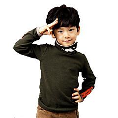 tanie Odzież dla chłopców-Dla chłopców Kreskówka Wyjściowe Patchwork Długi rękaw Bawełna Bluzka