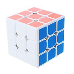 billiga Leksaker och spel-Rubiks kub shenshou 3*3*3 Mjuk hastighetskub Magiska kuber Pusselkub Present Klassisk & Tidlös Flickor