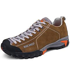 Tênis Tênis de Caminhada Sapatos de Montanhismo Homens Anti-Escorregar Anti-Shake Almofadado Ventilação Impacto Secagem Rápida