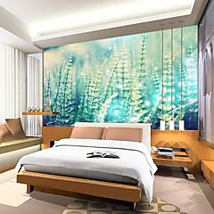 Χαμηλού Κόστους Wall Hangings-Φλοράλ Art Deco 3D Αρχική Διακόσμηση Σύγχρονο Κάλυψης τοίχων, Καμβάς Υλικό κόλλα που απαιτείται Τοιχογραφία, δωμάτιο Wallcovering