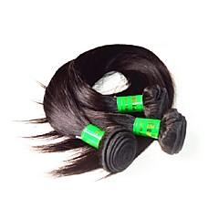 billige Remy fletninger af menneskehår-Ubehandlet Jomfruhår Remy hår Menneskehår 100% Remy Hair Weave Bundles Remy fletninger af menneskehår Hår vævning Til sorte kvinder Høj