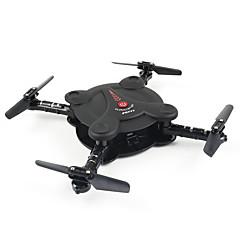 billige Fjernstyrte quadcoptere og multirotorer-RC Drone FQ777 FQ777-17W 4 Kanaler 6 Akse 2.4G Med HD-kamera 0.3MP 720P*576P Fjernstyrt quadkopter FPV / LED Lys / Hodeløs Modus / Sveve