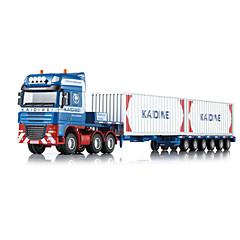 billiga Leksaker och spel-KDW Truck Lastbil Containertruck Leksakslastbilar och -byggmaskiner Leksaksbilar 01:50 Indragbart Metallisk Plast ABS 1pcs Pojkar Barn