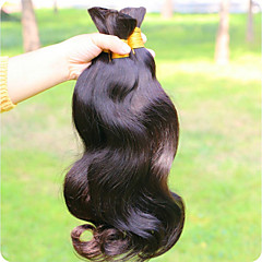 cheap Unprocessed Hair-Human Hair Remy Weaves Body Wave Brazilian Hair 300 g More Than One Year