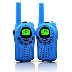 billige Walkie-talkies-T668462 Håndholdt Programmeringskabel / Strømsparefunksjon / VOX 3-5 km 3-5 km 22 0.5 W Walkie Talkie Toveis radio